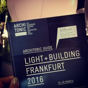 13-18 March 2016 Light + Building exhibition in Germany